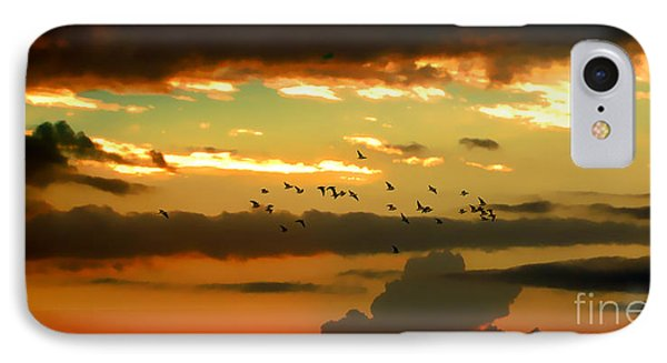 IPhone Case featuring the photograph Sunset 1 by Ze  Di