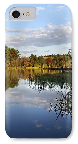 Tranquil Autumn Landscape Phone Case by Christina Rollo