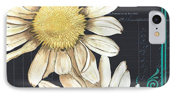 Daisy iPhone 7 Case - Tranquil Daisy 1 by Debbie DeWitt