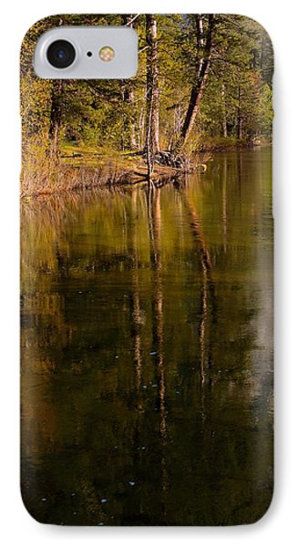 IPhone Case featuring the photograph Tranquil Merced River by Duncan Selby