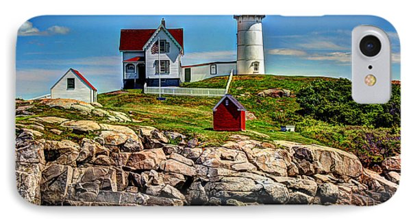 Tranquil Nubble Light IPhone Case by Laura Duhaime