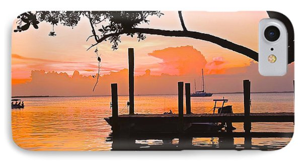 IPhone Case featuring the photograph Tranquil Sunset by Judy Kay