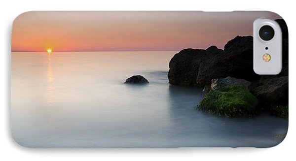 Tranquil Sunset Phone Case by Mike  Dawson