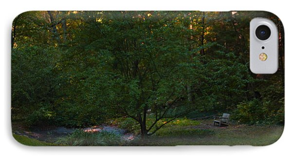 Tranquility By A Pond IPhone Case