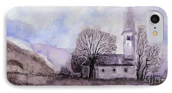 IPhone Case featuring the painting Tranquility by Jasna Dragun