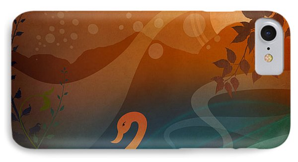 Tranquility Sunset Phone Case by Bedros Awak