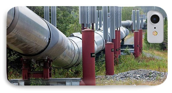 Trans-alaska Oil Pipeline IPhone Case