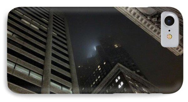 Transamerica Fog Phone Case by Donna Blackhall