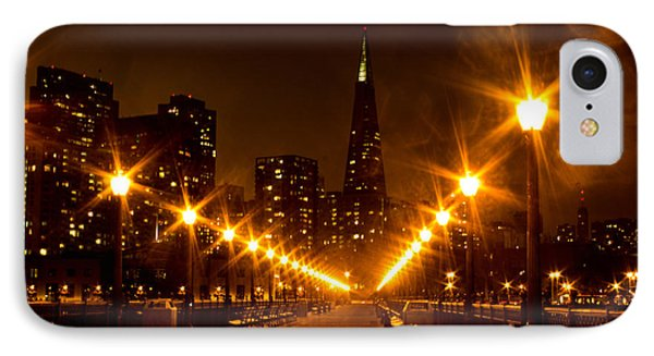 Transamerica Pyramid From Pier IPhone Case by Suzanne Luft
