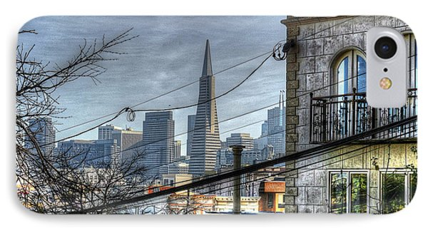 Transamerica View IPhone Case by Kevin Ashley