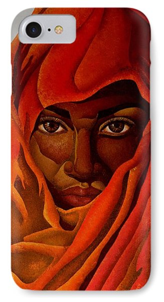 Transcendental Nubian IPhone Case by William Roby