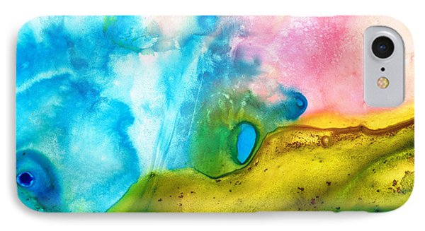 Transformation - Abstract Art By Sharon Cummings Phone Case by Sharon Cummings