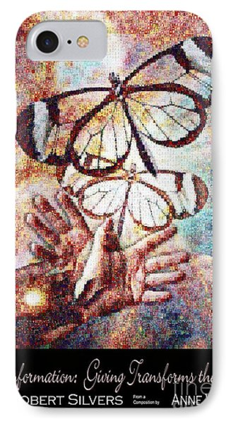 Transformation   Giving Transforms The Giver IPhone Case by Anne Watson