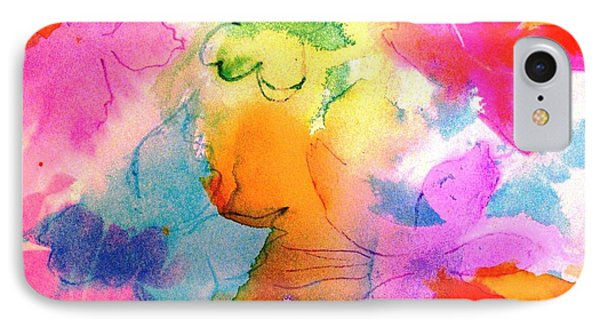 IPhone Case featuring the painting Transformed Into His Image by Hazel Holland