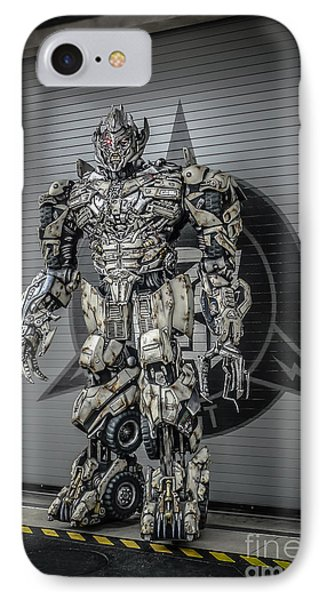 Transformer At Nest IPhone Case by Edward Fielding
