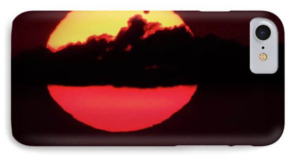 Transit Of Venus IPhone Case by Detlev Van Ravenswaay