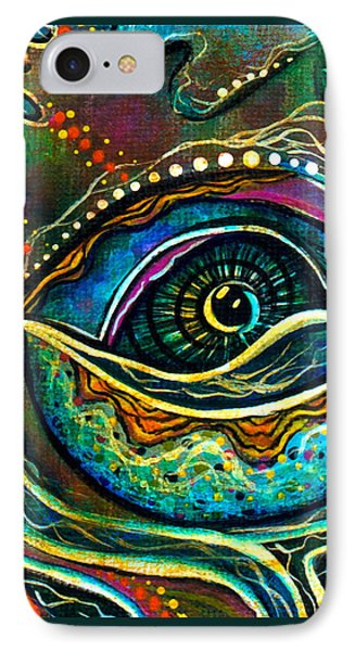 Transitional Spirit Eye IPhone Case by Deborha Kerr