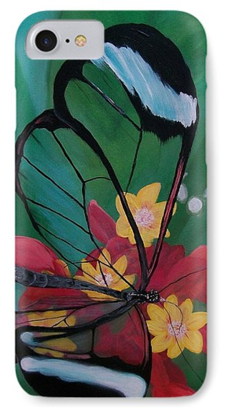 Transparent Elegance IPhone Case by Sharon Duguay