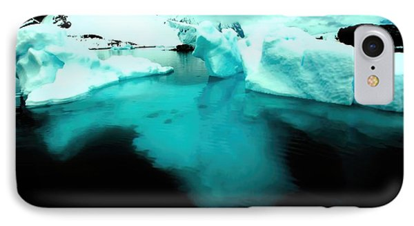 IPhone Case featuring the photograph Transparent Iceberg by Amanda Stadther