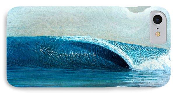 Transparent Sea Phone Case by Nathan Ledyard