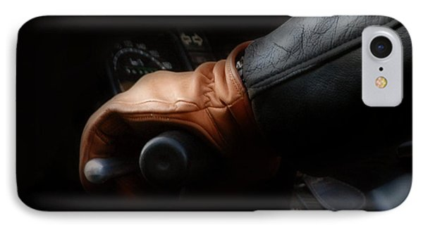 Leather Goes For A Ride IPhone Case