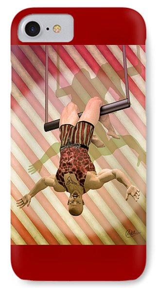 Trapeze Artist  IPhone Case by Quim Abella