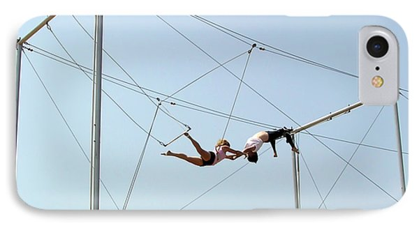 Trapeze School Phone Case by Brian Wallace