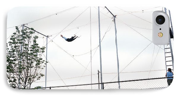 Trapeze School New York, Hudson River IPhone Case by Panoramic Images
