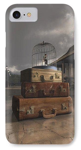 Traveling Phone Case by Cynthia Decker