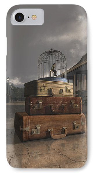 Traveling IPhone Case by Cynthia Decker