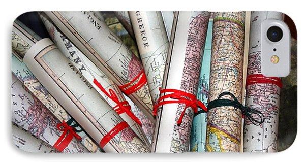 Travels Phone Case by Sophie Vigneault