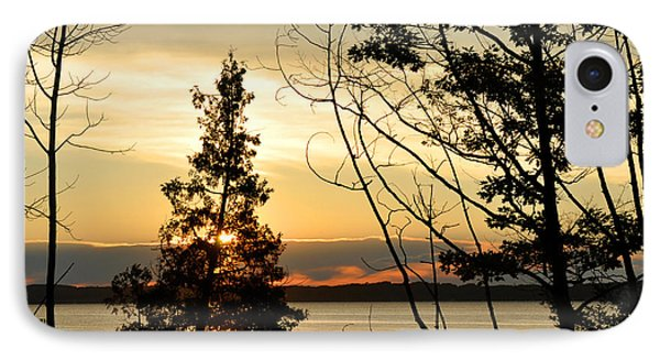 Traverse City Sunrise IPhone Case by Diane Lent