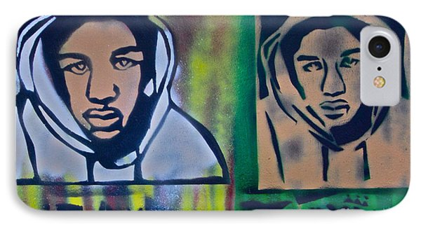 Trayvon Martin Phone Case by Tony B Conscious