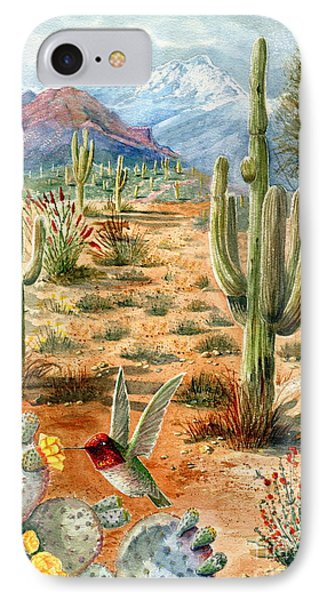 Treasures Of The Desert IPhone Case by Marilyn Smith