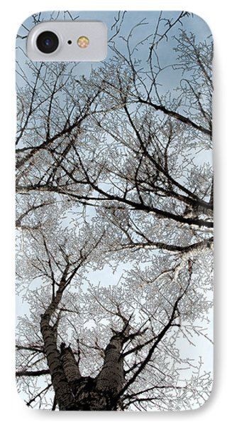 Tree 2 IPhone Case by Minnie Lippiatt