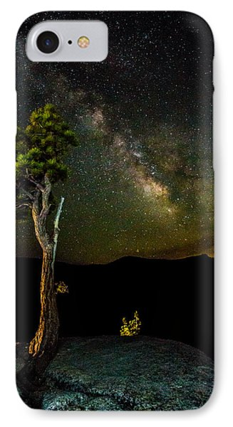 Tree Amongst The Stars IPhone Case