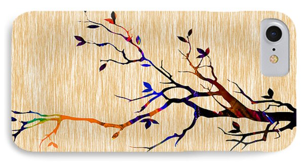 Tree Branch IPhone Case by Marvin Blaine