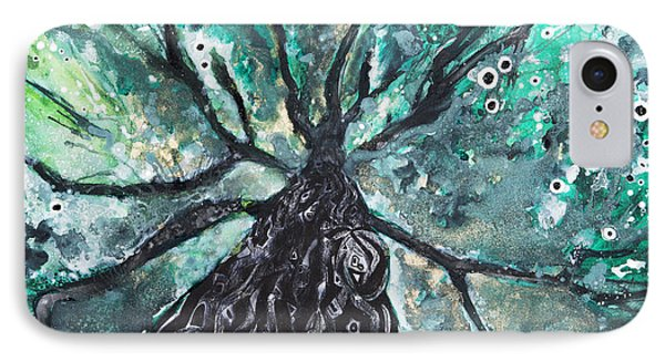Tree Branches Above Phone Case by Tara Thelen