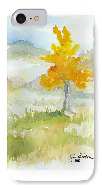 IPhone Case featuring the painting Tree by C Sitton