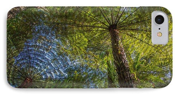 Tree Ferns From Below IPhone Case
