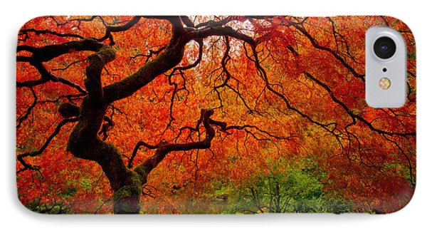 The iPhone 7 Case - Tree Fire by Darren  White