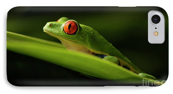 Tree Frog 7 Phone Case by Bob Christopher