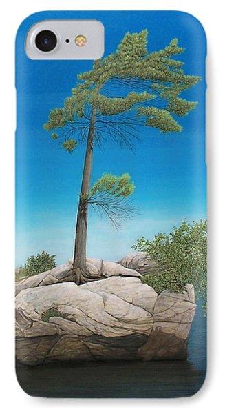 Tree In Rock Phone Case by Kenneth M  Kirsch