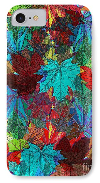 Tree Leaves Phone Case by Klara Acel