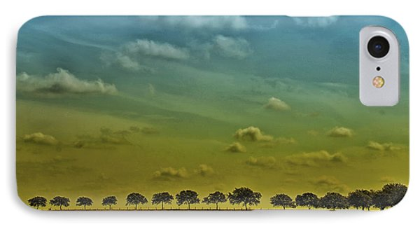 IPhone Case featuring the photograph Tree Line by Susan D Moody