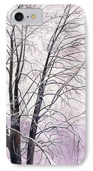 IPhone Case featuring the painting Tree Memories by Melly Terpening