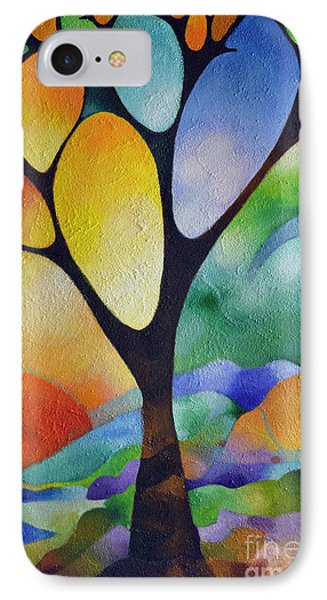 Tree Of Joy IPhone Case by Sally Trace