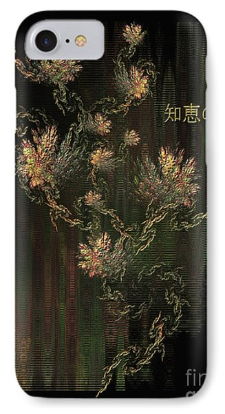 Tree Of Knowledge In Bloom - Oriental Art By Giada Rossi IPhone Case by Giada Rossi