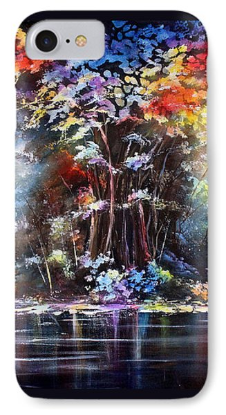 IPhone Case featuring the painting Tree Of Life 2 by Patricia Lintner