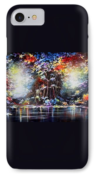 Tree Of Life 2 IPhone Case by Patricia Lintner